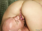 cute masseuse has first sex