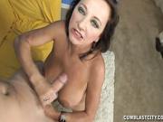 Perverted older MILF Ciara Blue