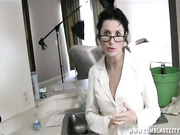 tatiana petrova gets messy amateur facial