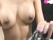 Asian Miping loves to give handjobs