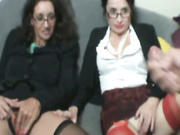 Frank with two hot office secretaries Tatiana and Persia
