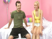 Teen Vanessa Cage learned how to grip a dick
