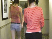 Dakota Pocahontas and Brittany giving teen handjobs