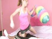 I Heart Alyssa Hart handjob video