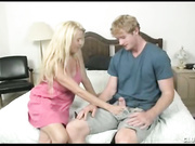 Milf Grace handjob from clubtug