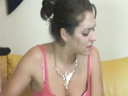 Teen Is Disgusted While Jerking Cock