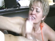hot wife tracy sucks billys cock