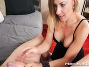 Poor married just wanking off