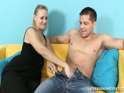Valerie Rose jerking off her step son