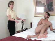Jimmy gets caught masturbating