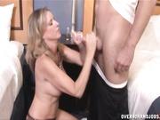 milf Jodi West jerks off and handjobs Joey
