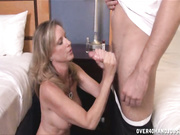milf Jodi West jerks off and handjobs Joey