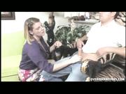 Kayla Quinn loves to do handjob