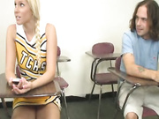 Vanessa Cage decides to give a handjob