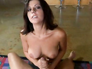 Rita Fatolyana goes for a handjob