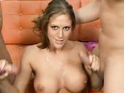 Delilah Strong gets naked