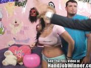 Nikki Sexx Strokes, Sucks, and Fucks a Fan