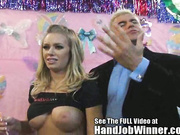 Nicole Anniston Gives a Handjob