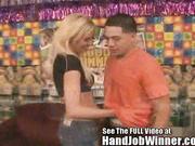 Victoria White Giving David A Handjob