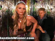 Phoenix Marie tugs a cock