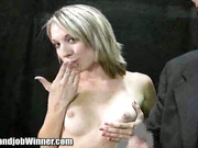 Alanah Rae tugs a cock