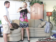 Stepmom Loves Stepson's Cum