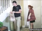 Delivery Boy w/ Foot Fetish