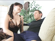 Angelique Loves Young Cock