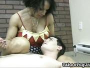 Wunder Woman Yanking Dick