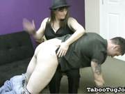 Spanking and Wanking Stepson