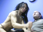 Muscled Cock Stroking