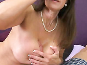 Legendary Milf Gives A Legendary Tit-fuck And Blow Job