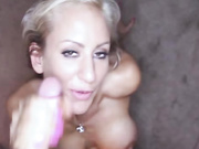 Hot Milf Gets A Facial Cumshot