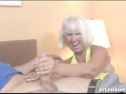 Jennie Lou granny handjob - vids 30