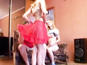 Freak daughters seducing a stepdad