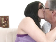 Sexy daughter estimated daddys cock