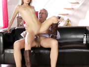 Teen loves old daddy