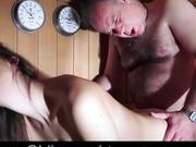 Daugher was seduced in the sauna