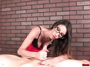 Mrs Foxxx loves massaging cocks -2