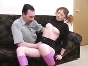 daughter Visits dad And Helps Him Get Better