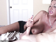 Nadia Night Handjob Quickie