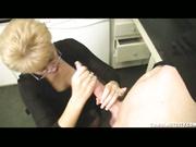 Milf Tracy Handjob Facial