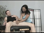 Asian Lucky Starr Handjob from Club tug