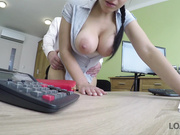 Girl pays with anal sex to get her financial problem fixed