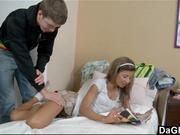 Eager Teen Raya Missalov Wants The Cock