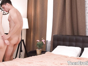 Long Haired Blonde Teen Adel Bye Takes a Good Fucking from