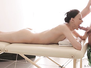 18 year old girl gets well great foreplay and has awesome