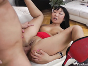 ASIAN TEEN ANAL WITH ATM BLOWJOB AND A STICKY FACIAL