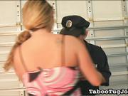 Jerking Off a Cop