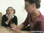 Grandma Jerk Off Lesson